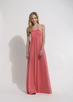 The Victoria Dress, Coral Cute Summer Outfits, Pretty Outfits, Pretty Dresses, Beautiful Dresses, Cute Outfits, Summer Dresses, Coral Maxi Dresses, Victoria Dress, Dress To Impress