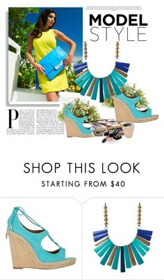 """""""Summer look"""" by cherry-bh ❤ liked on Polyvore featuring Aquazzura, Nearly Natural and Chanel"""