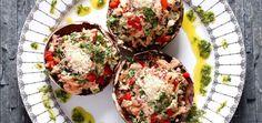 Receita de cogumelos portobello com bacalhau [com vídeo]