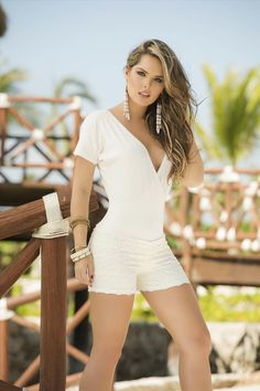 ad823ab79de0 Look at this AM PM White Lace Surplice Romper on today!