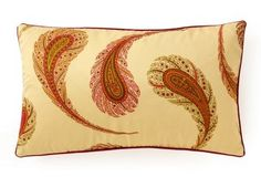 Peacock 12x20 Cotton Pillow, Multi