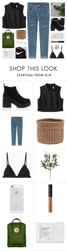 """""""Do you feel the chill, Clawing at the back of your neck? I start to spill. Did you really think that you could fix me?"""" by m-ade-line ❤ liked on Polyvore featuring Xhilaration, Pigeon & Poodle, T By Alexander Wang, NARS Cosmetics, Chanel and Trish McEvoy"""