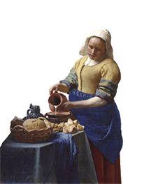 26. Hollandse meesters; Vermeers 'gezicht op Delft' | Canon van Zuid-Holland | regiocanons.nl