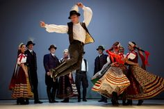 Hungarian Cuisine, Folk And Gypsy Music Hungarian Dance, Popular Costumes, Gypsy Costume, Kinds Of Dance, Folk Clothing, Hungarian Embroidery, Shall We Dance, Folk Dance, Beautiful Costumes