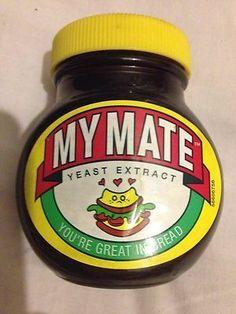 RARE DELETED MARMITE JAR  - MY MATE | #464300220