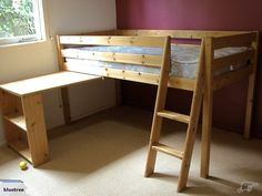 Bunk Bed and Integrated Desk | Trade Me