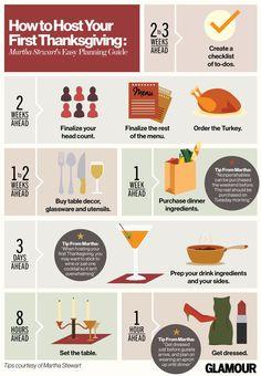 Martha Stewart's tips for hosting Thanksgiving