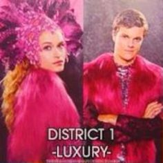 District 1 Luxury - Glimmer and Marvel The Hunger Games