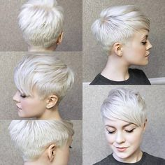 10 Trendy Pixie Haircuts- Short Hair Styles for Women - Cool Global Hair Styles 2019 Pixie Haircut 2017, Short Pixie Haircuts, Pixie Hairstyles, Short Hairstyles For Women, Hairstyles With Bangs, Very Short Hair, Short Hair With Bangs, Short Hair Cuts, Pelo Pixie