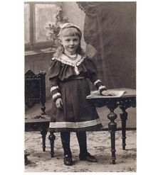 Pretty Little Girl Cute Child Fashion CDV Photo C1905 | eBay