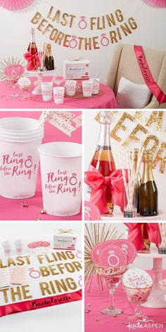 Last Fling Before the Ring 66 Piece Bachelorette Party Kit Throwing the ultimate bash is easy, espec Bachelorette Party Supplies, Bachlorette Party, Bachelorette Party Favors, Bachelorette Weekend, Bachelorette Party Checklist, Bachelorette Decorations, Party Kit, Ideas Party, Party Themes