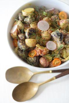 heirloom potato salad