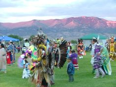 Ely pow-wow dancers