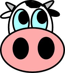Cow Face easy to draw Drawings To Trace, Cartoon Drawings, Easy Drawings, Cow Drawing, Drawing For Kids, Cow Painting, Painting For Kids, Stone Painting, Cartoon Cow Face