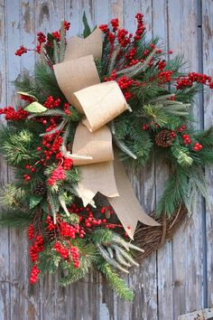 There are so many materials that you can make your own wreath of. Whether it is festive,simple, showy, arty or folksy it will fancy up your...
