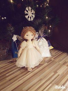 Le Creazioni di Sasha: Fairy Cloth Doll - Bambola fata