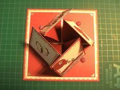 carte chevalet quadruple diagonale Plus