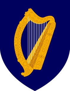 IRELAND: The national flower and symbol of Ireland is the Shamrock, but the official emblem is the Celtic Harp.