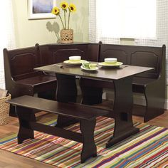 Found it at Wayfair - Nook 3 Piece Dining Set