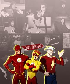 Haha I love Wally! :))) I'm really not sure if this is fully about Young Justice or if it'll just be all Wally! XD