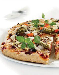 Hot pizza   www.greteroede.no   www.greteroede.no Vegetable Pizza, Feel Good, Nom Nom, Pasta, Diet, Vegetables, Health, Food, Lasagne