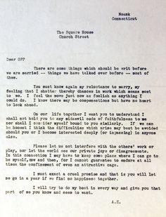 "Amelia Earhart's ""Premarital Agreement"""