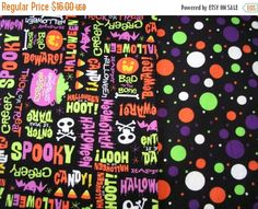 BUTTERFLY SALE Halloween Table Runner Spooky Creepy by MakeMeOver