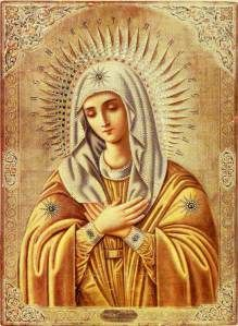 Tenderness (Умиление) Icon of the Mother of God
