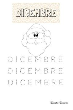 MAESTRA MARINICA: PREGRAFISMO: I MESI DELL'ANNO Winter Wonderland, Alice, Diagram, Snoopy, Christian, Words, School, Fictional Characters, Iphone