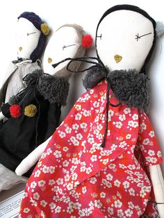 don't miss the book to go with your favorite doll!   We have a fresh new batch of Jess Brown dolls  just arrived all the way from Jess's ...