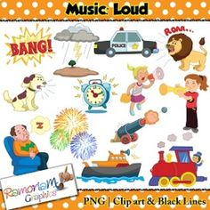 music concepts high sounds clip art rh pinterest com clip art sound clips clipart sound of music