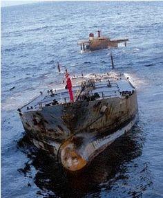 Amoco Cadiz.Navegación y Barcos - Naufragios y Desastres Maritimos