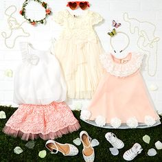 If your little one loves dressing up and embracing her girly side, this collection seen on #Facebook Live has of-the-moment trends on a small scale for a look that's as sweet as she is. #zulilylive #zulilyfinds