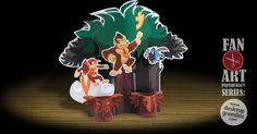 Donkey Kong by Desktop Gremlins Make Playing Cards, Playing Card Holder, Donkey Kong Country Returns, Les Gremlins, Game Night Parties, Puppet Toys, Family Game Night, Toy Craft, Gaming