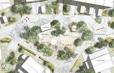 By-gläntan - sörmländskt, naturanpassat - URBIO - rödgrönblå stadsbyggnadskonst