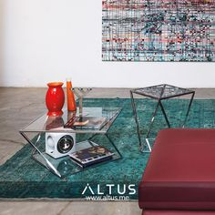 Flex side tables from Arketipo Firenze, designed by Nendo, made in Italy. www.Altus.me #luxury #furniture #interiordesign #design #designer #interiors #madeinitaly