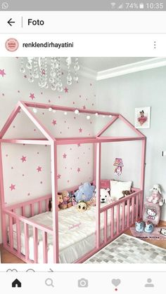 Awesome Kids Room and Kids Bedroom Ideas - Fldefensivedrivingschool Baby Bedroom, Girls Bedroom, Bedroom Decor, Baby Rooms, Lego Bedroom, Childs Bedroom, Toddler Rooms, Toddler Girl Bedrooms, Diy Toddler Bed
