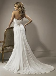 Marion Wedding Dress (Back) – Maggie Sottero 2011 Collection