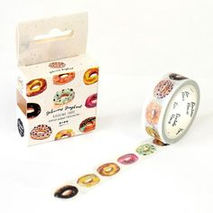 The Delicious Donut Decorative food Washi Tape DIY Scrapbooking Masking Tape School Office Supply Escolar Papelaria