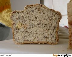 Bezlepkový chléb s pohankovou moukou Gluten Free Recipes, Healthy Recipes, Bubble Tea, Biscotti, Healthy Life, Banana Bread, Food And Drink, Cooking Recipes, Vegan