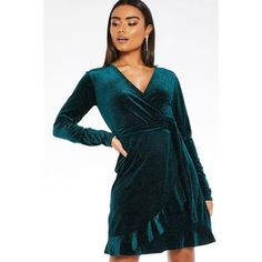 Buy Black and Gold Sequin Turtle Neck Bodycon Dress online now from Quiz. Great deals and free UK delivery Going Out Outfits, Going Out Dresses, Dresses For Sale, Teen Skirts, Glitter Dress, Bodycon Fashion, Green Dress, Dress Outfits, Wrap Dress