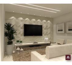 minha sala education ba part 3 - Education Living Room Tv Unit Designs, Ceiling Design Living Room, Tv Wall Design, Home Room Design, Home Interior Design, Home Living Room, Living Room Decor, Tv Wall Decor, Home Decor