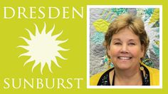 The Dresden Sunburst Quilt: Easy Quilting Tutorial with Jenny Doan of Mi...