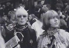 Brian Jones and Nico - Monterey Pop Festival, 1967. | Monterey | Pinterest | Monterey Pop Festival