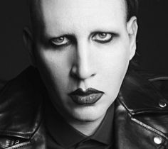 marylin manson_saint laurent paris