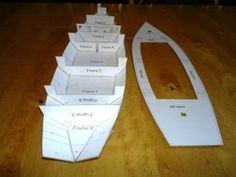 Free Boat Plans, Wood Boat Plans, Wooden Boat Building, Boat Building Plans, Duck Hunting Boat, Model Ship Building, Model Boat Plans, Canoe Boat, Electric Boat