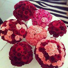 Capelli Gioielli curlie 6 eliche per capelli con rose in colore ARANCIONE matrimonio sposa