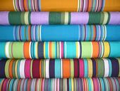 Stripes - Exclusive Bold Beautiful Striped Fabrics & Fabric Trimmings for Deckchairs, Curtains, Blinds & Upholstery. Deckchairs, Directors Chairs and Matching Striped Accessories for Beach, Home Interiors and Garden