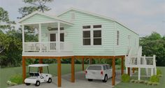 Jacobsen Homes has several small mobile home floor plans to choose from. The one bedroom to three bedroom plans are ideal for a first or second Florida home. 2 Bedroom Floor Plans, Mobile Home Floor Plans, Modular Home Floor Plans, House Floor Plans, Beach House Plans, Small House Plans, Prefab Homes, Modular Homes, Home Renovation