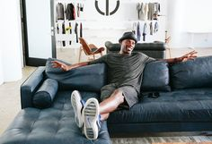 Terrell Owens Launches His New Fashion Line with a Sleek Office